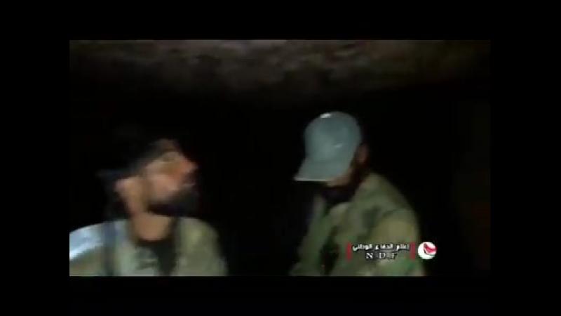 Национальные силы обороны обнаружили туннель и траншеи террористов Daesh в провинции эс-Сувейда