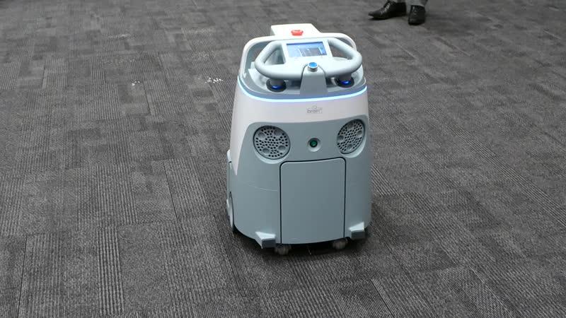 Robot Whiz Softbank Robotics ソフトバンクロボティクス「Whiz」清掃
