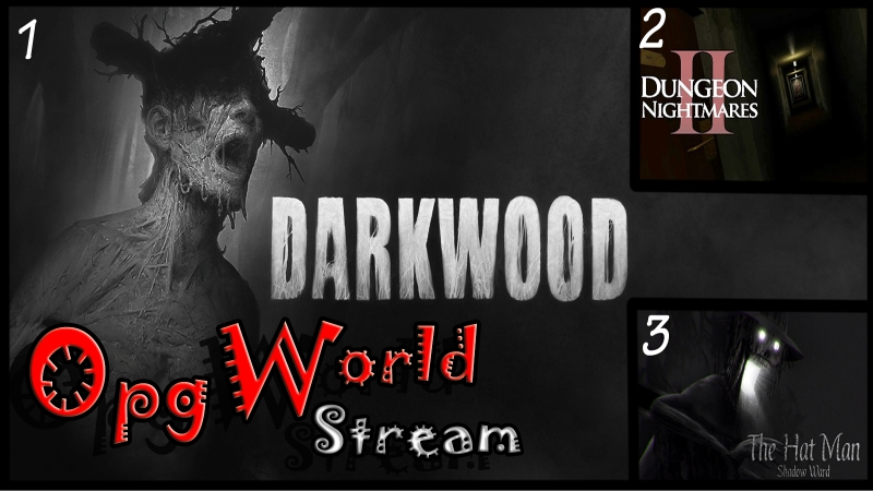 1 Darkwood 2 Dungeon Nightmares II The Memory 3 The Hat Man Shadow Ward Леденящий ужас Хоррор забег 1
