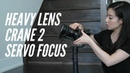Keys to Balance Your Zhiyun Crane 2 with Heavy Lens and Servo Focus | By Valentina Dang