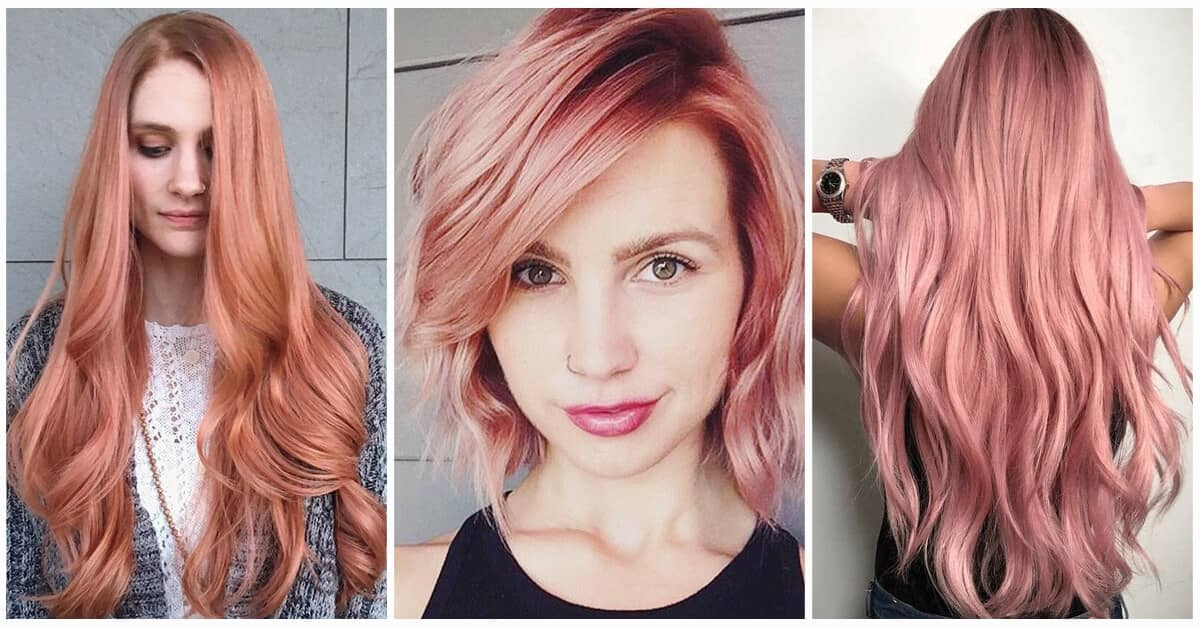 Модный рыжий цвет волос 2018-2019: много фото