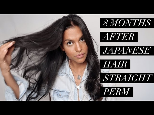 JAPANESE PERMANENT HAIR STRAIGHTENING Miami Vlog | MARIA TERESA LOPEZ