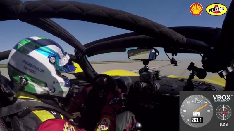 Самый быстрый в мире кабриолет 265,6 MPH Venom GT Spyder
