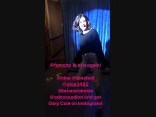 Aaron Kaplan on Instagram Stories 17.10.18