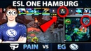 MOST WTF GAME OF THE DAY?! - EG vs PAIN - 8 Min Rax Down! ESL ONE Hamburg Dota 2
