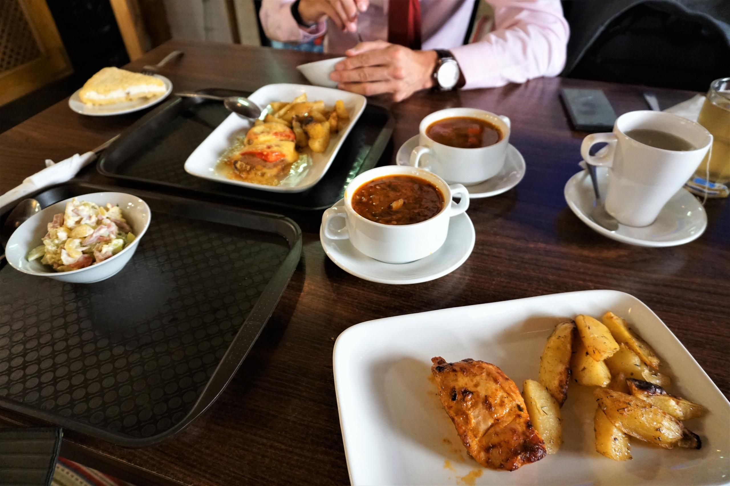 Обеды в Кебаб-Хаус на Маросейке. Как-то не очень