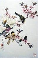 """Схема вышивки  """"Японские мотивы  """": таблица цветов."""