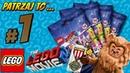 Lego 71023 Cowardly Lion. Recenzja klocków Lego. The Lego Movie 2 - Minifigures