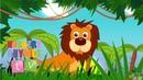ANIMALS IN THE JUNGLE | Nursery Rhymes TV. Toddler | Kindergarten | Preschool Songs