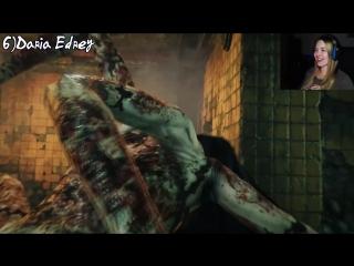 """""""Реакции Летсплейщиков"""" на Появление Лауры из The Evil Within 2"""