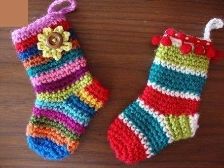 Тёплые носочки малышам на зиму (9 фото) - картинка