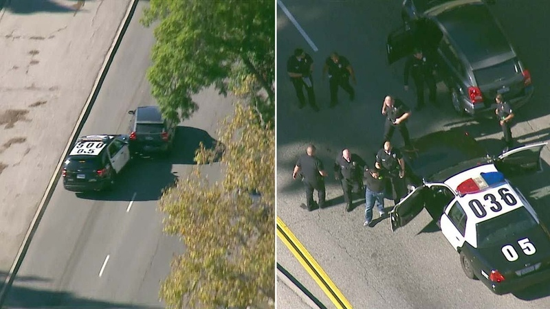 Police chase: Armed robbery suspect arrested in Long Beach after police chase | ABC7