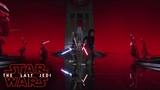 Star Wars The Last Jedi - The Battle In Snokes Throne Room