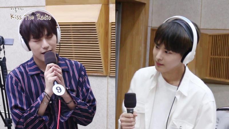170705 Бёнчан и Сыншик на KBS Radio