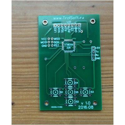 Плата дисплейного модуля под цветной экран 128х128