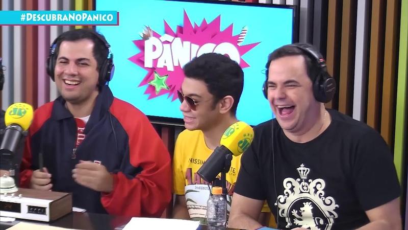 Aloisio Chulapa, Luisa Albuquerque e Cristiano Vianna - Pânico - 230718