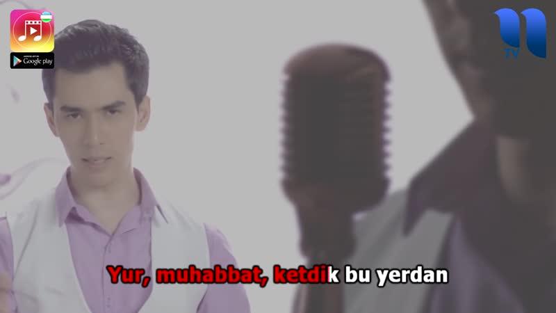 Hojiakbar Haydarov - Yur muhabbat UZBEK KARAOKE (Qo'shiq va Karaoke)