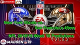 New York Giants vs. San Francisco 49ers NFL 2018-19 Week 10 Predictions Madden NFL 19