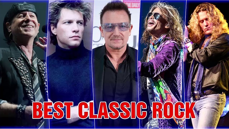 U2, Scorpions, Bon Jovi, The Police, Aerosmith, Led Zeppelin - Best Classic Rock Songs Collection