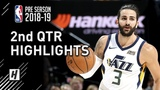 Toronto Raptors vs Utah Jazz - 2nd Qtr Highlights October 2, 2018 2018 NBA Preseason