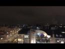 Столица при свете ночных фонарей