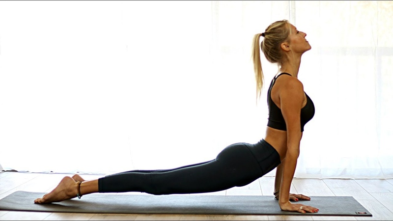 Morning Total Body Yoga Burn Workout - Vinyasa Flow