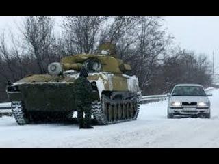 Харьков колона БТР и БМП идет в зону АТО 08 12  Донецк 14  War in Ukraine