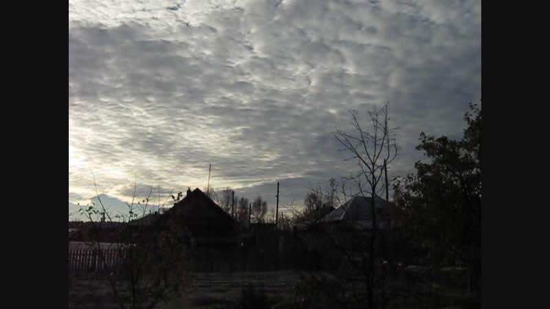 небо, утро, тишина, звуки природы