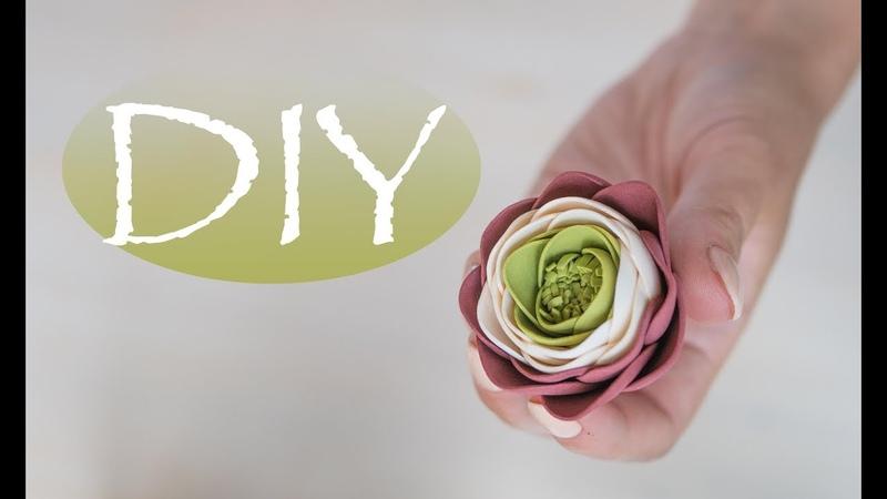 Простые цветы из фоамирана - DIY Tsvoric