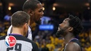 Kevin Durant Patrick Beverley ejected after Game 1 drama NBA Highlights