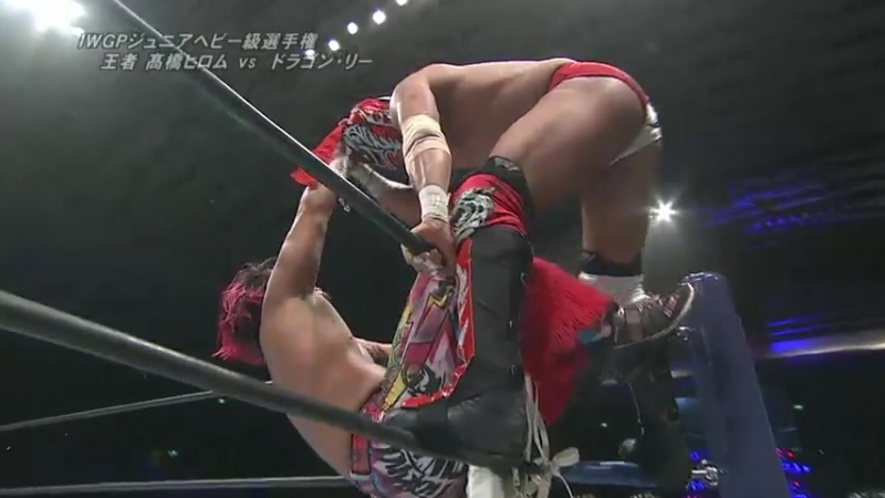 Hiromu Takahashi (c) vs. Dragon Lee - NJPW The New Beginning In Osaka 2017