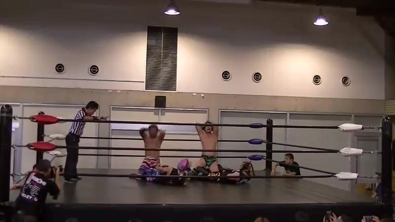 Dragon Libre, Kamui vs. Rey Paloma, Yuya Susumu (FREEDOMS - Kitakyushu)