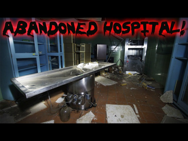 Exploring an Untouched Abandoned Hospital Flatliners was Filmed Here