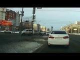 ДТП на Жукова, Омск (20.03.2018)