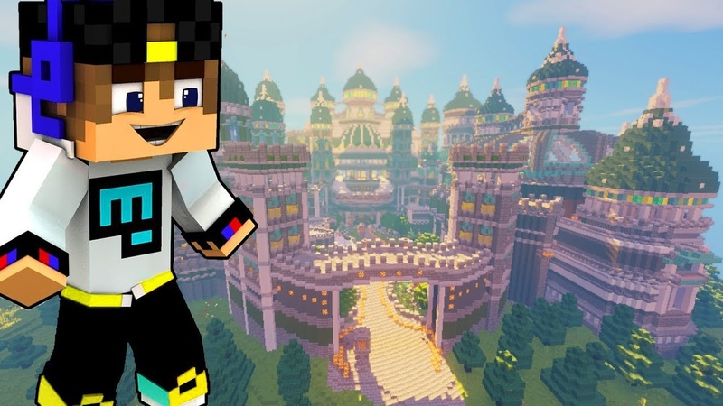 Minecraft. ПОСТРОЙКИ. 58. Весеннее обновление для сервера DreamWorld! Часть-2. Спавн