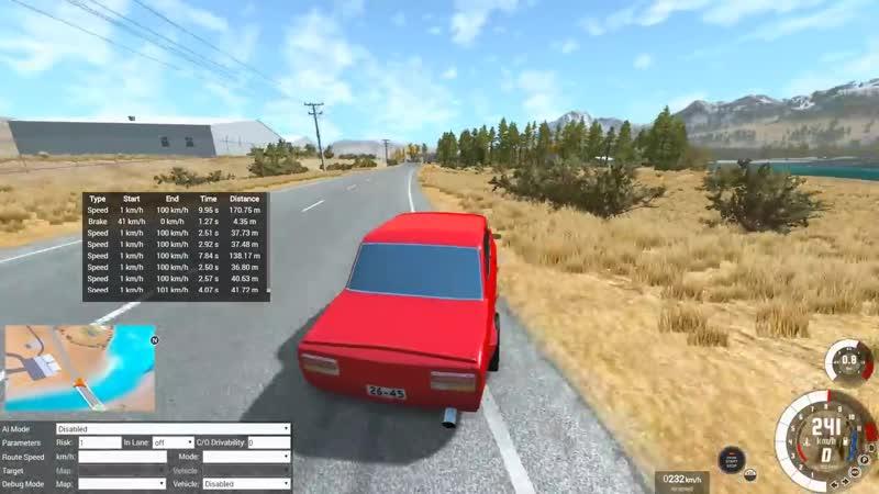 [Draken] ЖИГА на игрушечном V12 против ВАЗ ОКА 3000 лс! BeamNG Drive