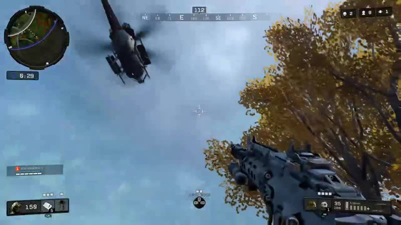 Flying low is a no go. Black Ops 4