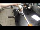 Хускварна 125R настройка карбюратора без тахометра временное решение