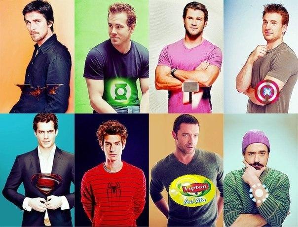 Супергерои картинки и фото