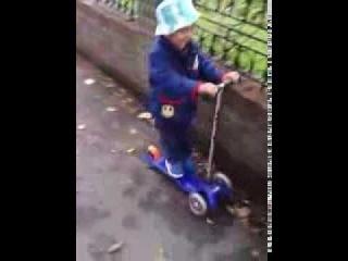 Mini micro scooter play