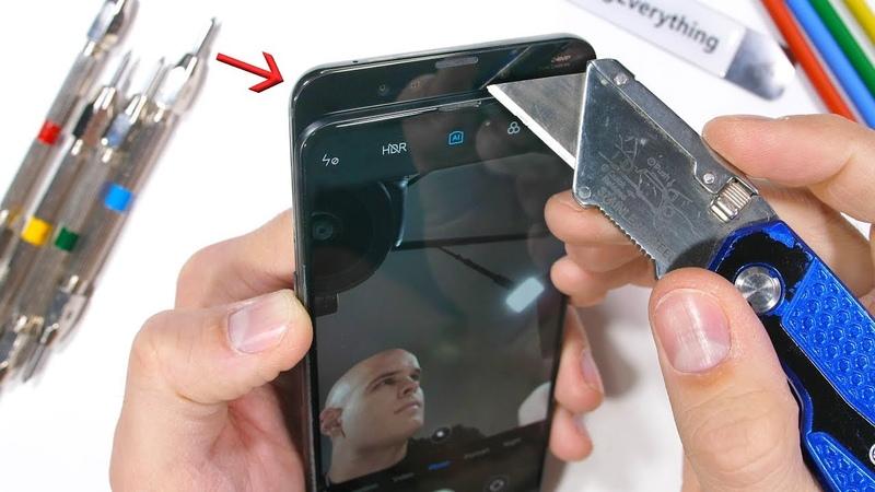 Способен ли слайдер Xiaomi Mi Mix 3 выдержать тест на прочность