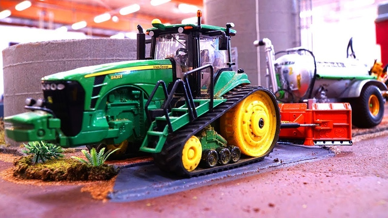 RC SIKU CONTROL 1:32 SCALE BEAUTIFUL JOHN DEERE TRACTOR ACTION LIPPER MODELLBAU TAGE 2019
