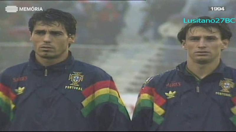 Portugal vs Liechtenstein, 4ªJornada Apur. p Euro96, 18 Dez 1994