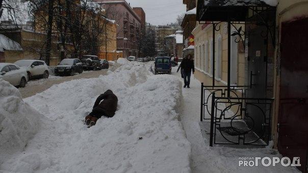 Почему не убирают снег в нижнем новгороде 2017