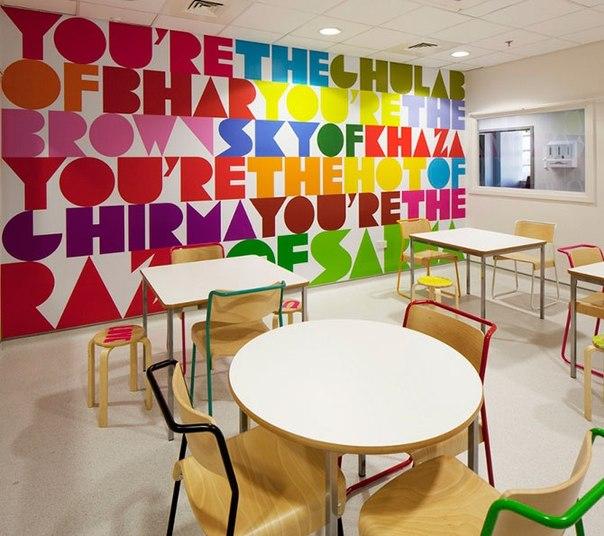 Красочные интерьеры детских больниц QrOJEBstgsQ