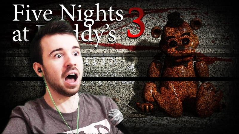 Прохождение Five Nights At Freddy's 3 1 - Ночь 1 и Ночь 2