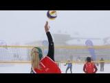Чемпионате Европы по снежному волейболу 2018. Женщины. Финал 25 марта 13.10