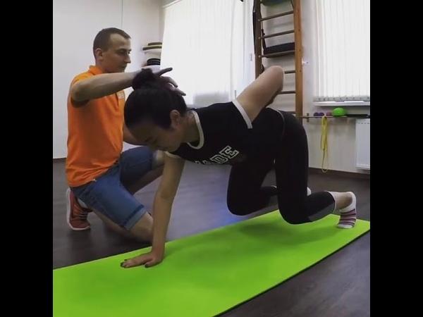 Кинезиология. Упражнение для реабилитации после травм опорно-двигательного аппарата.