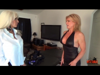 [Sally D'Angelo] - Watch her squirt when I pull my Dildo out of her ASS Sally D angelo Mandy vixen