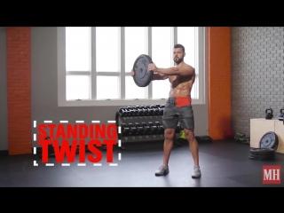 Strength of Body. 32 упражнения с блином от штанги